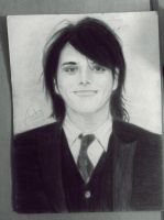 Gerard Way ( charcoal) by ChemicalAudry