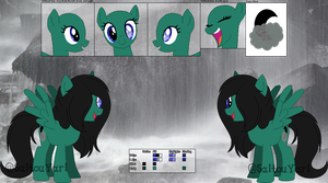 RoM: Caela Nocturna (REF SHEET) by Starlollipop