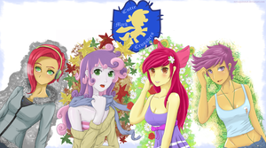 Cutie Mark Crusaders Seasons Set by NovaQuinmat