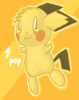 pichu for contest by pop32510