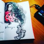 Drawing Challenge/ Disease by Marsellia