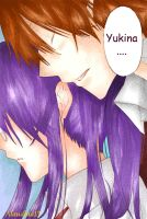 Yukina and Shigure in color by Alaudina13