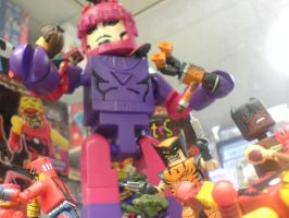 MARVEL MINIMATES ZOMBIE ATTACK! by U-D0NT-KN0W-ME
