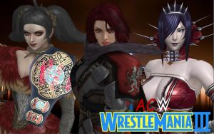 ACW WrestleMania III - Triple Threat Match by TankMan125