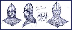 Lorien Knight Helmet by Merlkir