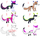 Dogs adoptables 10 points !!!! by FlakPaw