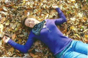 Laying in the Leaves by artylyn