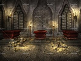 Coffins Room by Trisste-stocks