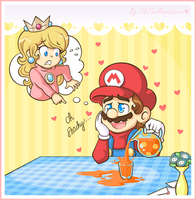 PEACHPEACHPEACHPEACH by CloTheMarioLover