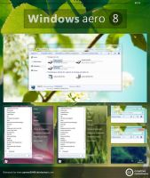 Windows aero 8 by aymenGH99