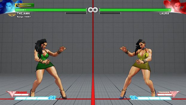 LAURA IN DRESS SFV by THEJAMK