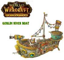WoWCataclysm Goblin River Boat by atagene