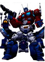 OPTIMUS PRIME COLOR 1 by Mjones456