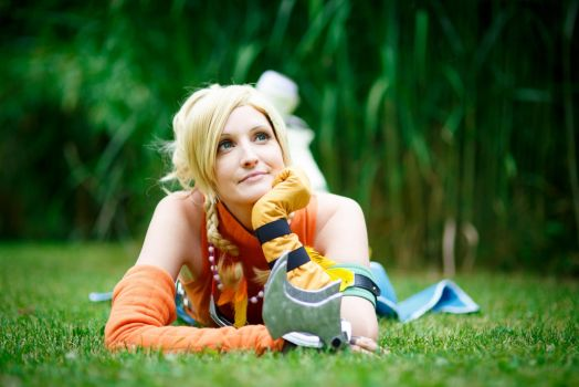 Rikku - Daydreaming by SoraPaopu