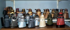 The Daleks by CyberDrone
