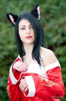 Ahri Cosplay X by Aleeusha