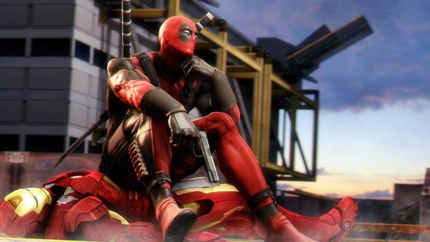 Deadpool vs Iron man p.2 by AngryRabbitGmoD