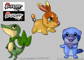 ohgaw more 5th gen starters by autumnalone