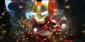 Chibi Iron Man by TH3M4G0