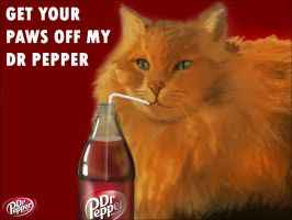 Get Your Paws Off My Dr Pepper by BenGregoire