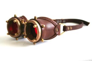 Steampunk Goggles number 1 by AmbassadorMann