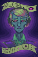 Welcome to Night Vale by RhodArt