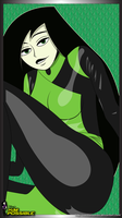 Shego in her uniform by NormanSanzo
