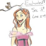 ENCHANTED IS AN AWESOME MOVIE by avalonauggie