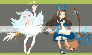 Moth and Maid Witches Auction [CLOSED] by aketan-adopts