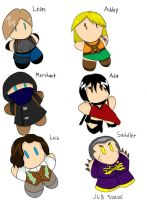 Resident Evil 4 Plushies by Stareon