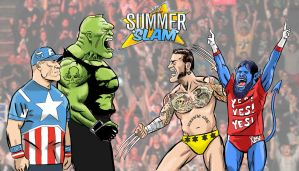 Summerslam 2013 by jkipper