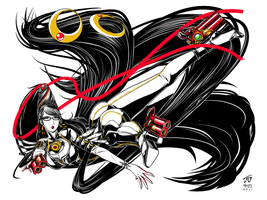 Bayonetta Fan Art 00 by DRa90NBoi