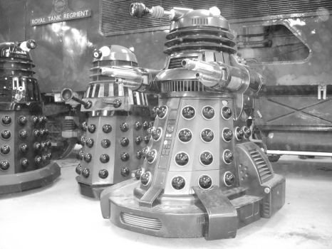 STORM AT Whoovers With daleks by Dalekstorm