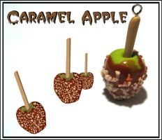 Yummy Caramel Apple Charm by chat-noir