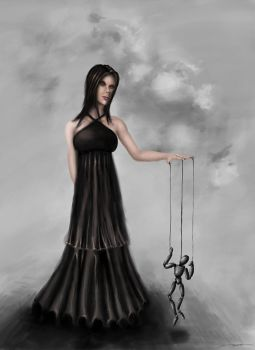 The puppet master by equilibrium3e
