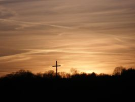 The Cross in the sunset vol. 3 by Wolinpiotr
