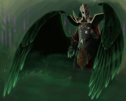 LOL: Swain by Rain-shade