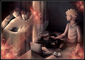 Boundless Friendship Cover Naruto X Sasuke by V0IDsKhaos