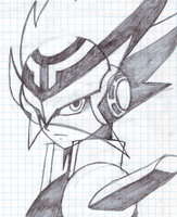 MegaMan Starforce - Rogue by HiyashiX2