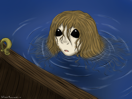 Curious Selkie by LadyVentuswill