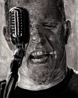James Alan Hetfield by Red-Szajn