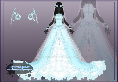 [Close]  Adoptable Outfit Auction 60 by LifStrange