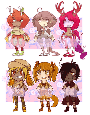 [Only $4 !!] EclairFlare Auction Collab [1/6 Open] by SugarSweetEclair