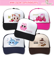 Personalized kawaii trucker hats by tho-be