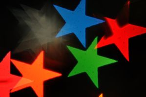 Star Bokeh Texture 8 by LDFranklin