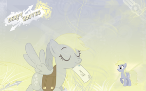 FiM: Derpy Hooves Wallpaper by M24Designs