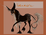 Sycamore | Male | OC by Whitelupine