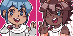 [not for use] marth and pit icons by zanui