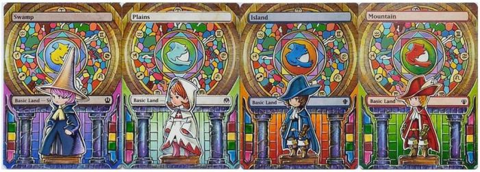Final Fantasy Mage set by Toriy-Alters