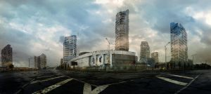 Post Apocalyptic Vilnius by CarloVerso